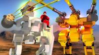 小飞象解说✘战地模拟器 全新机器人登场! 激光武器碾压敌军!