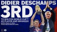 德尚成历史第三人!球员教练世界杯双冠 比肩巴西德国两大神