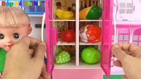 厨房做饭玩具和奇趣蛋, 亮亮玩具第380集