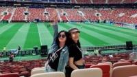 世界杯:容祖儿阿Sa谢霆锋俄罗斯看世界杯