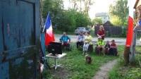 """俄罗斯""""巴黎村""""庆祝法国夺冠 这一日将被法兰西球迷永恒铭记"""
