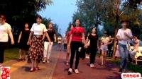 8步广场舞《花一样的姑娘》广场上大家跳不够