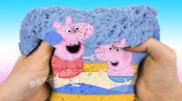 论创意只服魔力太空沙! 用太空沙讲故事, 创意小猪佩奇3D电影蒙太奇