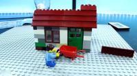 亲子丨玩具: 乐高定格: 好开心啊, 在这片土地上建造属于自己的房子