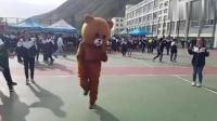 这熊已经成精了, 鉴定完毕! ? 肥胖的身躯拦不住想舞动的心哈哈
