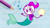 创意铅笔动画: 粉黛还是珍珠, 二选一!