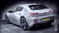 2019全新一代量产马自达3 Mazda谍照曝光