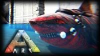 【矿蛙】方舟生存进化 灭绝#09 心惊胆战海中鲨鱼缠斗