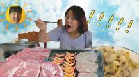 【吉尼橘尼VLOG】净化眼睛的吃播 中国家常菜馆探访记