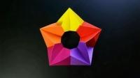 折纸王子教你折纸组合空心立体五角星, 一学就会, 好玩留着教孩子