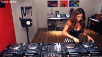 前方高能预警, 来一起跟国外美女DJ达人老师学打碟吧! 超赞啊