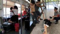 因感情问题失控 女子在轻轨车厢内撕咬乘客
