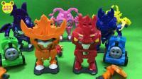 托玛嘶和他的朋友玩菓寳特攻铠之魂变形玩具