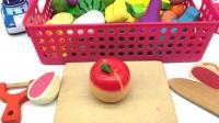 警长珀利玩水果切切看玩具