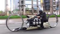 世界上最炫酷的摩托车, 搭载航天发动机, 出街回头率爆表!