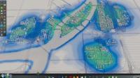 (城市天际线)延时摄影第八集: 建设美丽乡村, 尝试开发农业区