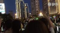 点亮上海双子塔镇魂女孩大合唱时间飞行! 我爆哭啊啊啊啊人间不值得!