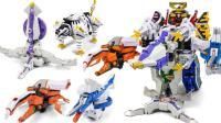 超能战士 超级武士战斗翼 折纸变身组合合体变身玩具
