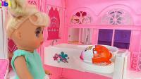 梳妆盒玩具和奇趣蛋, 婴幼儿宝宝玩具游戏视频