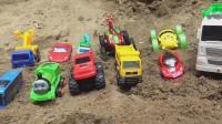 汽车和轿车玩具试玩, 婴幼儿宝宝玩具游戏视频S322