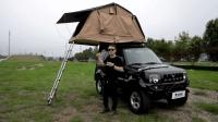 去野小课堂:让10多万吉姆尼秒变房车?车顶帐篷选择/搭建和使用