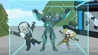 王者荣耀搞笑小动画: 英雄之间的枪战大战