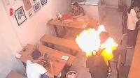 四川宜宾: 男子点烟空气突然爆燃 打火机质量问题导致气体外泄