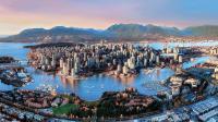 【步行游览】加拿大不列颠哥伦比亚省温哥华市