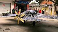 四川农民自制飞机, 像隐形战机, 才花2万, 号称能飞5000米高