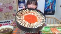 大胃王木下佑香: 品尝美味的Kappa外卖寿司