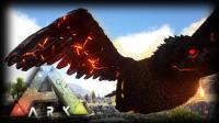 【矿蛙】方舟生存进化 灭绝#12 首次击杀高阶火鸟