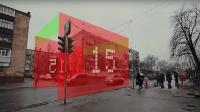 世界上最奇葩红绿灯, 体积跟一面墙一样大, 任何人都不敢闯红灯!