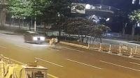 未婚夫妻不走天桥横穿马路 双双被撞1死1伤