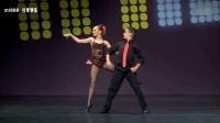 跳舞不如小朋友系列: 国外舞蹈比赛少年组精彩有趣的双人舞现场