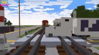 我的世界动画 警方全力追击失控的列车