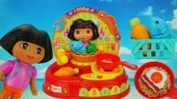 朵拉可出水的厨房过家家儿童玩具