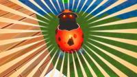 迷你世界野外生存2: 一个红色的怪物蛋, 把我炸到飞天