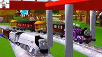 【永哥】托马斯的朋友们P203 托马斯和比德的约定 小火车游戏