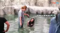 天乩之白蛇传说拍摄花絮 杨紫说要在水里慢慢适应半个小时