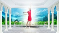 建群村广场舞《等着我来爱》健身舞编舞叶子2018年最新广场舞带歌词