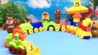 红果果熊出没玩具视频 第一季 第261集熊大玩熊出没儿童益智积木玩具