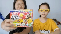小妹妹创意制作日本食玩, 五彩玉米糖果食玩