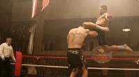 黑狱拳王争霸赛, 夺冠就能获得自由, 博伊卡华丽腿法大杀四方