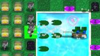 【逍遥小枫】潜水蜘蛛, 又输在弹球游戏上了 ! | MC版植物大战僵尸2#7