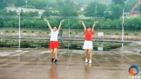 超赞! 峰峰这两个小姐姐火了, 滏阳河畔对跳广场舞《公虾米》