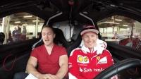 当F1世界冠军遇上马力最小的车, 冠军也有马失前蹄的时候!