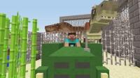 大海解说 我的世界建造我的王国ep15 开拖拉机喂恐龙