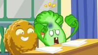 【植物大战僵尸同人动画】老师要去菜问家访-搞笑游戏动画