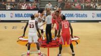 【布鲁】NBA2K15生涯模式: 迈克尔乔丹打爆詹姆斯哈登! (19)