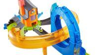 迷你小火车玩具托马斯和他的朋友们透明旋转隧道